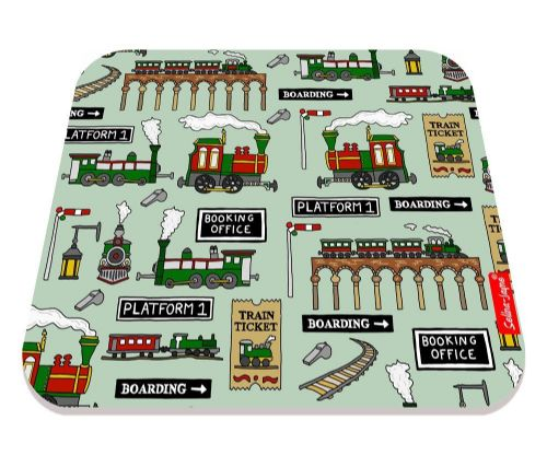 Selina-Jayne Steam Trains Limited Edition Designer Mouse Mat